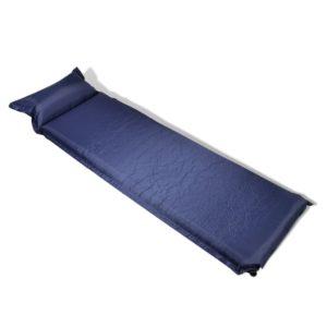 Õhkmadrats padjaga 10 x 66 x 200 cm sinine