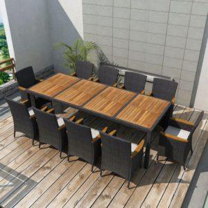 21-osaline aiamööblikomplekt