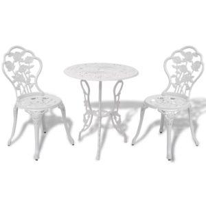 3-osaline söögilaua ja toolide komplekt