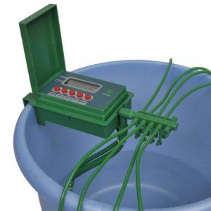 Automaatne kastmissüsteem taimeriga