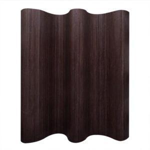 Bambusest ruumijagaja tumepruun 250 x 195 cm