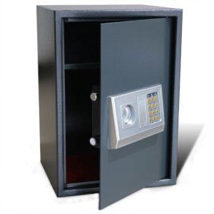 Digitaalne seif riiuliga 35 x 31 x 50 cm