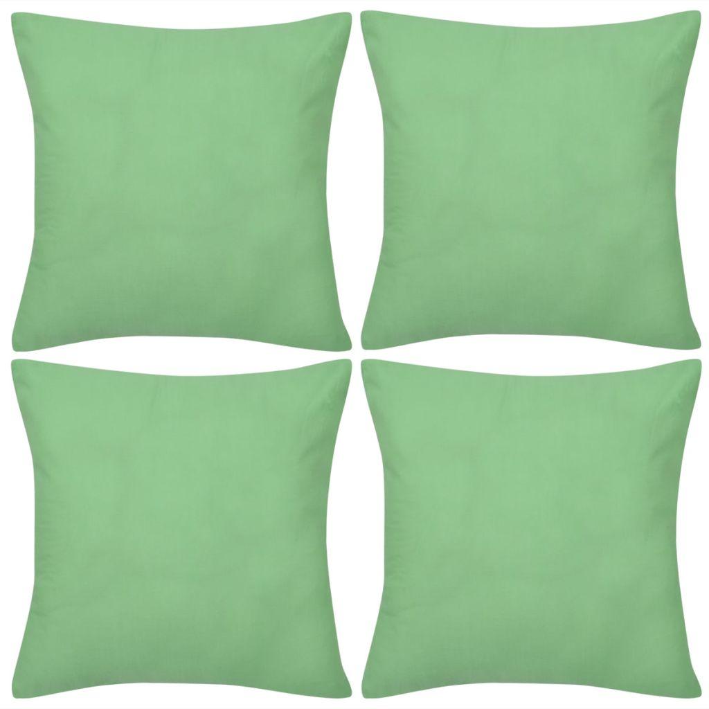 0eee35fc4fb Diivanipadja katted 4 tk 40 x 40 cm roheline - JUNIIK.EE