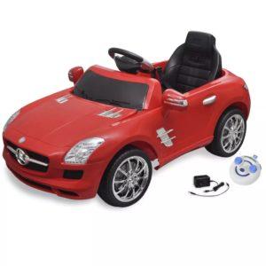 Elekriline lasteauto Mercedes Benz SLS AMG puldiga