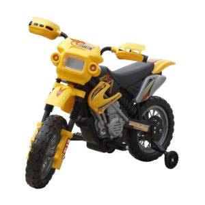 Elektriline mootorratas lastele kollane