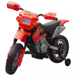 Elektriline mootorratas lastele punane
