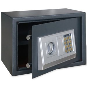 Elektrooniline digitaalne seif 25x25x35 cm