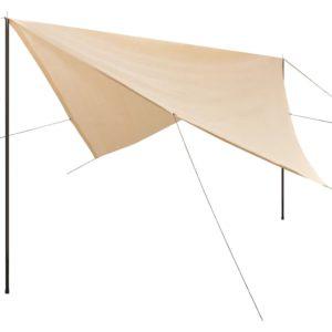 HDPE postidega päikesepuri kandiline