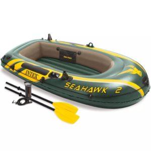 Intex Seahawk 2 täispuhutav paat aerude ja pumbaga