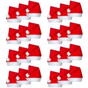 Jõuluvana jõulumütsid 24 tk
