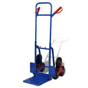 Käru 6 rattaga 150 kg punane sinine