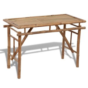 Kokkupandav bambusest laud