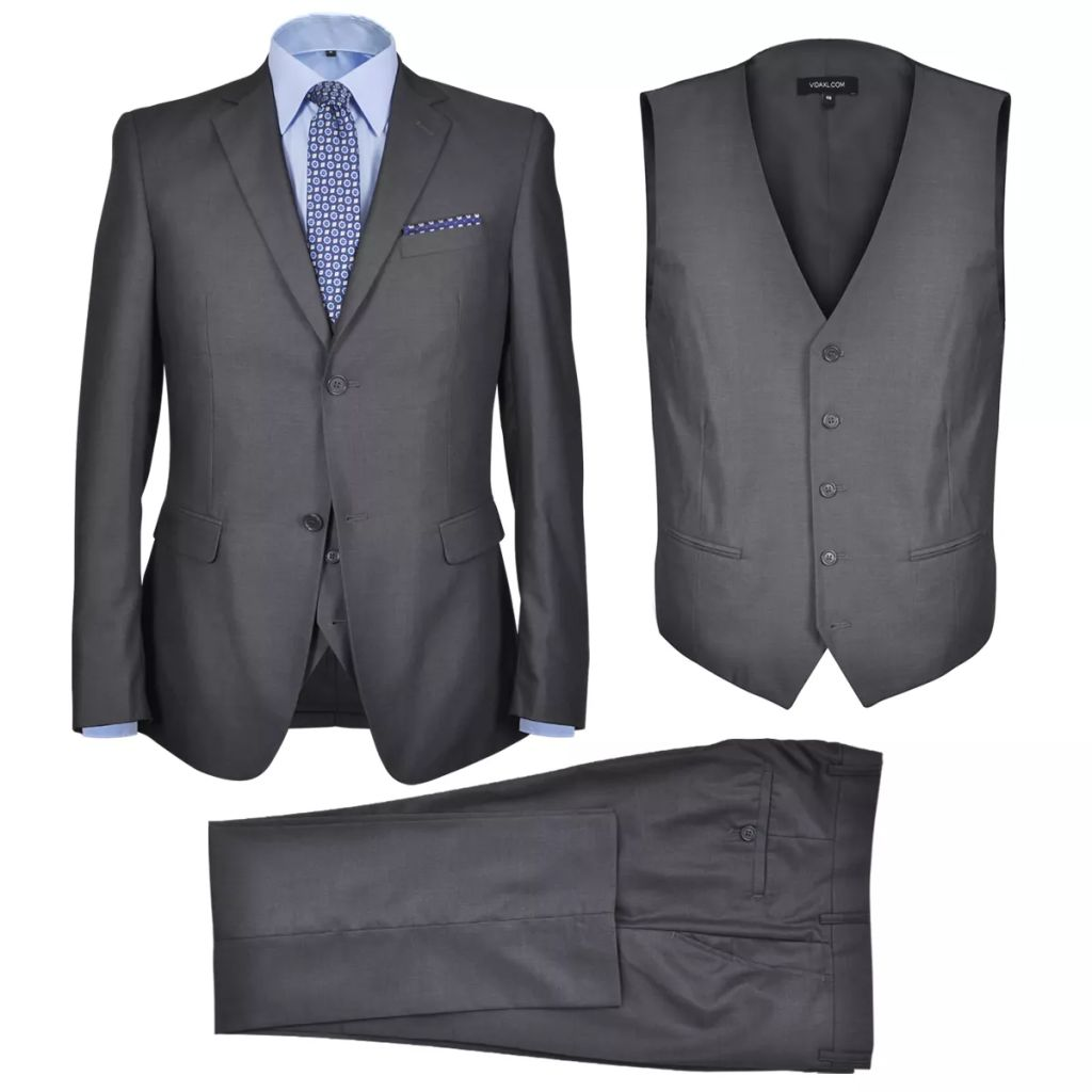 5cad8150c21 Kolmeosaline ülikond nr 54 antratsiithall - JUNIIK.EE