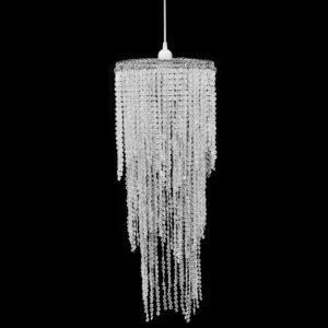 Kristallidega laelamp 26 x 70 cm