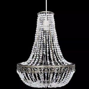 Kristallidega rippuv kroonlühter 36