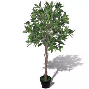 Kunstlik loorberipuu potiga