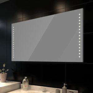 LED tuledega peegel vannituppa 100 x 60 cm