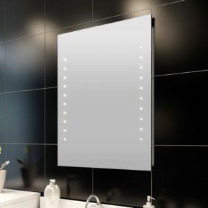 LED tuledega peegel vannituppa 50 x 60 cm