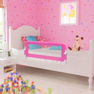 Laste voodipiire 102 x 42 cm roosa