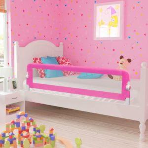 Laste voodipiire 150 x 42 cm roosa