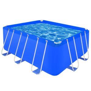 Maapealne bassein kandiline 400 x 207 x 122 cm