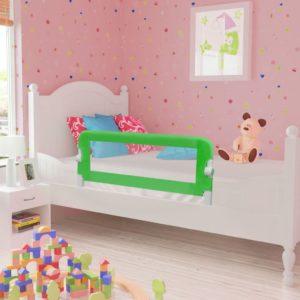 Ohutusäär põngerja voodile 102 x 42 cm roheline
