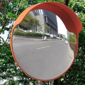 PC plastmassist kumer liikluspeegel 45 cm Oranž