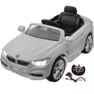 Patareil töötav mänguauto puldiga BMW valge