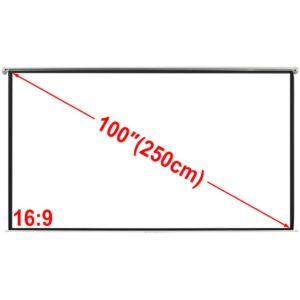 Projektori ekraan 200 x 153 cm 4:3