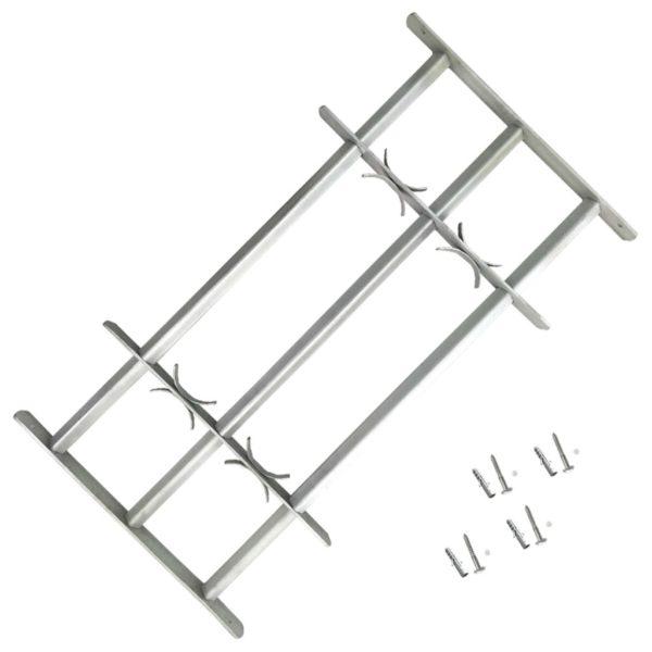 Reguleeritavad turvatrellid akendele kolme trelliga 700-1050 mm