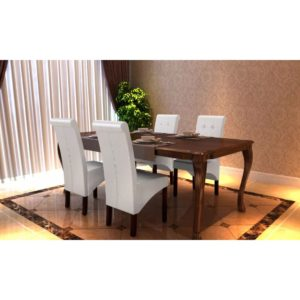 Söögitoa toolid 4 tk antiikne valge