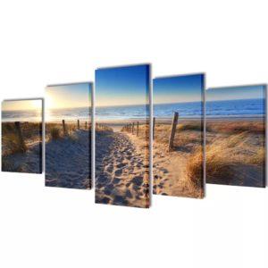Seinamaalikomplekt rannaliivaga