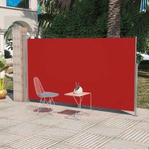 Terrassi küljesein 180 x 300 cm punane