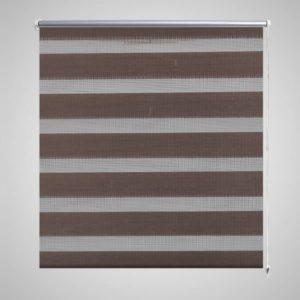 Triibuline ruloo 120 x 230 cm kohvipruun