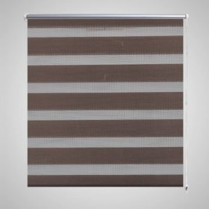 Triibuline ruloo 140 x 175 cm kohvivärvi