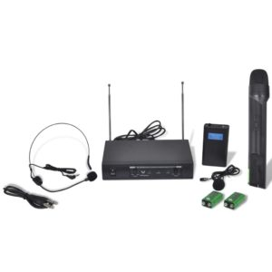 VHF vastuvõtja + 1 mikrofon + 1 peakomplekt