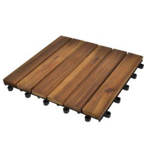 Vertikaalse mustriga terrassiplaadid 30 x 30 cm