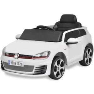VidaXL isesõitev auto VW Golf GTI 7 valge 12 V puldiga