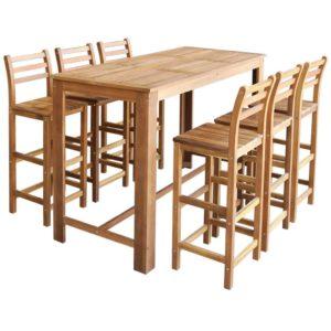 baarilaua ja toolide komplekt