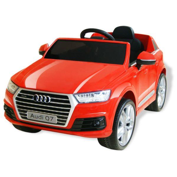 elektriline pealeistutav auto Audi Q7 punane 6 V