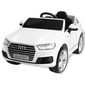 elektriline pealeistutav auto Audi Q7 valge 6 V