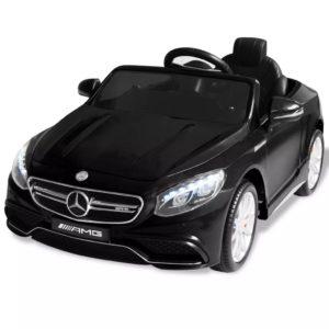 elektriline pealeistutav auto Mercedes Benz AMG S63 must 12 V