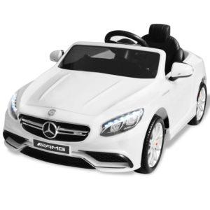 elektriline pealeistutav auto Mercedes Benz AMG S63 valge 12 V