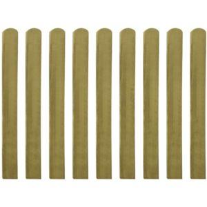 immutatud aialauad 10 tk 100 cm FSC puidust