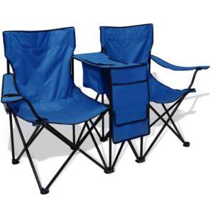 kahekohaline matkatool 155 x 47 x 84 cm sinine