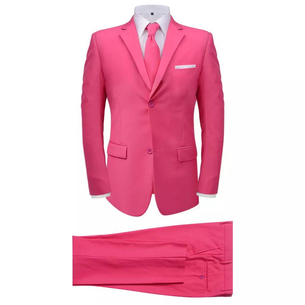 2bc56c247e1 kaheosaline meeste ülikond lipsuga, roosa, suurus 46 - JUNIIK.EE