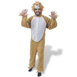 karnevalikostüüm lõvi M-L