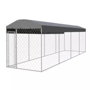 katusega koeraaed 8 x 2 m