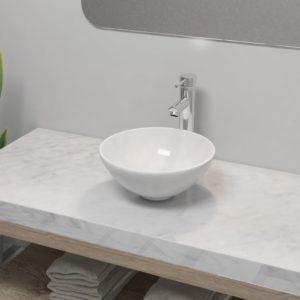 keraamiline vannitoa valamu koos segistiga