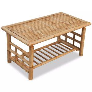 kohvilaud bambusest 90 x 50 x 45 cm